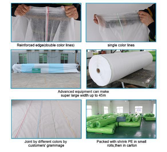 rayonson non-tissé, ruixin, enviro vêtements paysage alternatives de tissu prix usine pour les vêtements