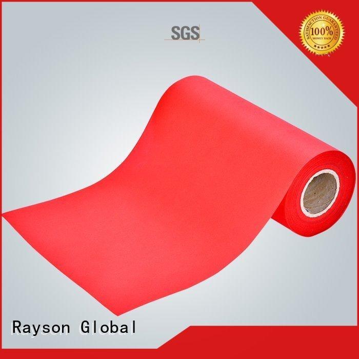 Rayson não tecida, ruixin, enviro colchones branco toalha de mesa pvc projeto para sacos