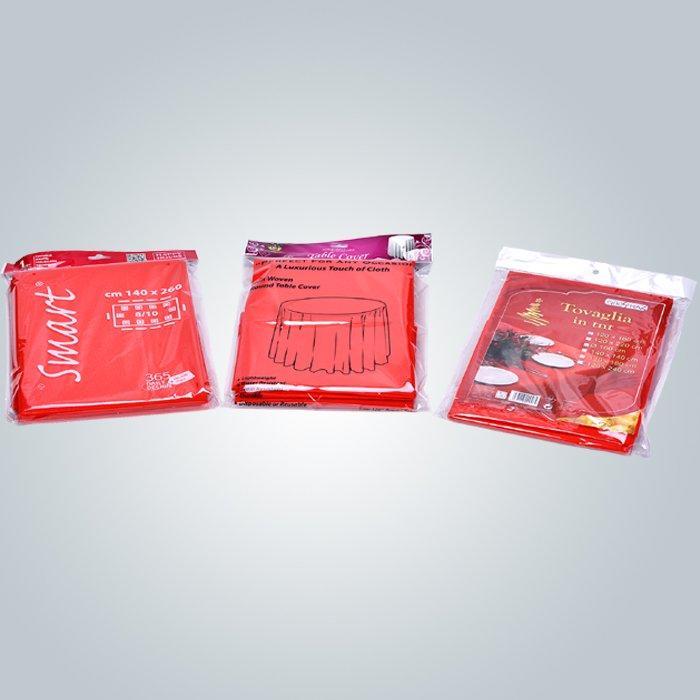 Multi / Panton colori Spunbond Non tessuto tessuto Tnt tovaglia con certificato OEKO-TEX
