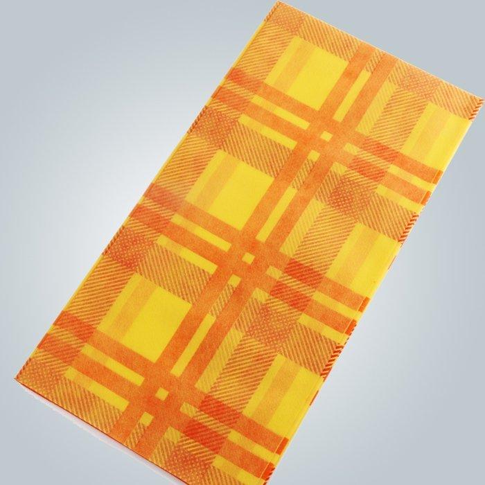 Impresión de manteles de tela ESTÉRIL no tejido mantel 45gsm 50gsm 70gsm