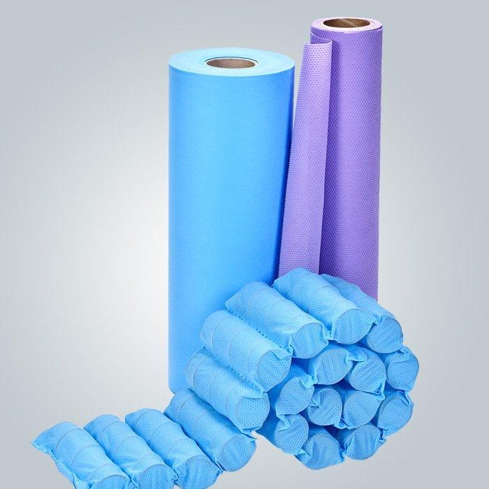 70 جرام الأزرق غير المنسوجة النسيج المستخدمة ل جيب الربيع
