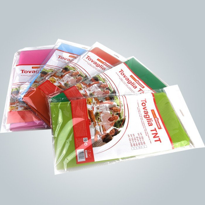 manteles de tnt desechable 50gsm en colores