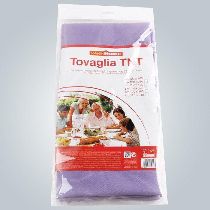 Senza stampa 40g a 60g Non tovaglia tessuto Tnt per banchetti usato