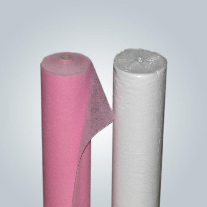 पारिस्थितिकी - अनुकूल SS गैर बुना / डबल Spunbond डिस्पोजेबल चादर मरीज बिस्तर के लिए