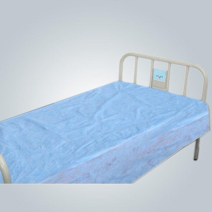 Blaue Farbe weiche Einweg medizinische Bettbezug mit Luftdurchlässigkeit
