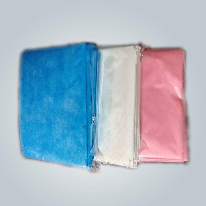 Soft Feeling Comfortable PP Nonwoven Bedsheet For Hygienic With Multi Colors