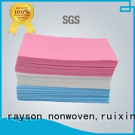 20gsm slip piece non woven fabric wholesale rayson nonwoven,ruixin,enviro