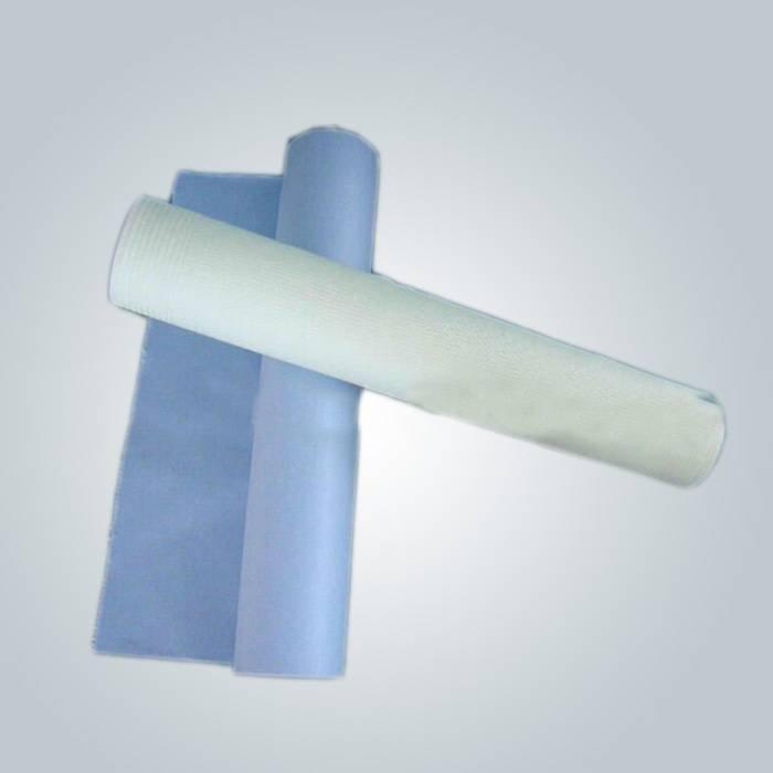 Pembe, mavi ve beyaz renk SMS nonwoven kumaş sap çarşaf içinde kullanılır
