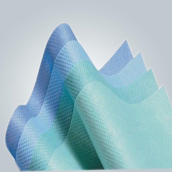 Zéro Pollution tissu non-tissé pour usage chirurgical bien pour le contact de la peau