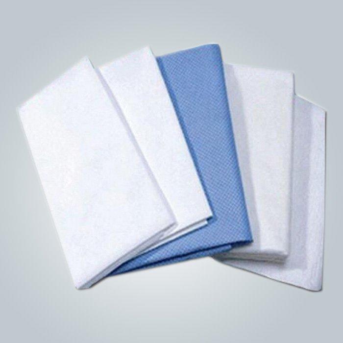 Tela de la hoja de cama disponible no tejida quirúrgica polipropileno para uso médico