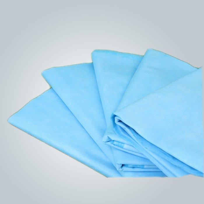 Hospital médico de hoja de cama disponible no tejido tela polipropileno