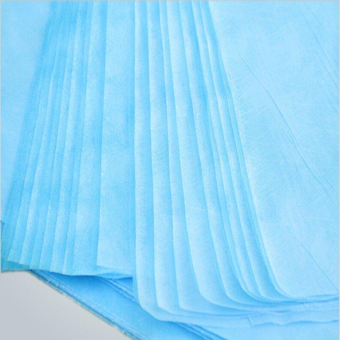 Ospedale biancheria da letto monouso foglio medico Non tessuto in polipropilene tessuto materiale