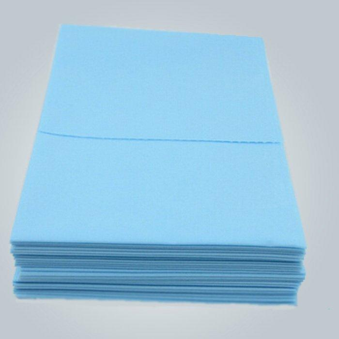Hoja de cama quirúrgico disponible no tejido 100% polipropileno PP material