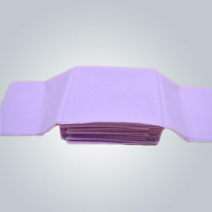 Púrpura Color SMS tela no tejida médica para batas quirúrgicas operación toalla