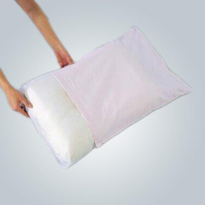 Desechables no tejidos almohada casos polvo doméstico - prueba y Antifouling