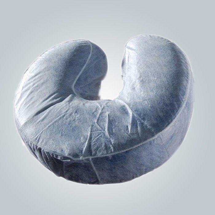 U- の形をした使い捨て枕スリップ快適な首ガード不織布抱き枕カバー