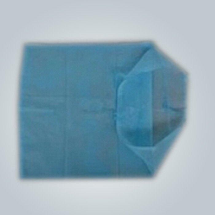 Logotipo impreso aerolínea reposacabezas no tejida cubierta / cubierta del de la almohadilla OEM