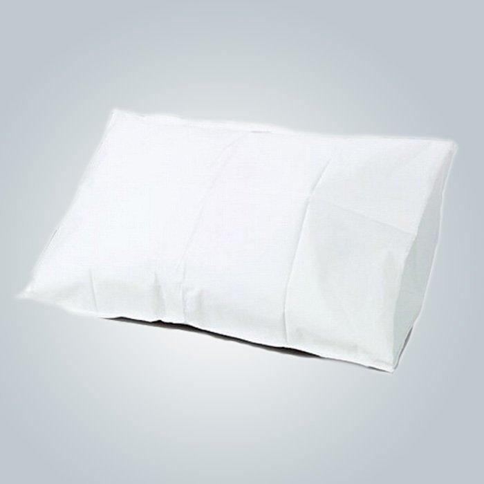 Almohada de tela no tejida de alta calidad blanco salud cubierta para almohadilla de masaje de espuma de memoria