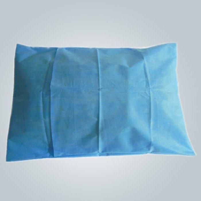 Funda de almohada no tejidos desechables cómodo ambiental para Spa / Sauna
