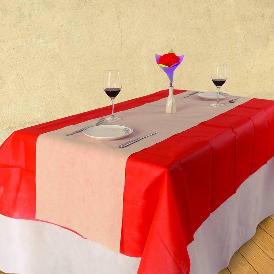 Einfachen Stil AZO frei tnt nicht gewebt Tabelcloth für Kantine / Hotel / party