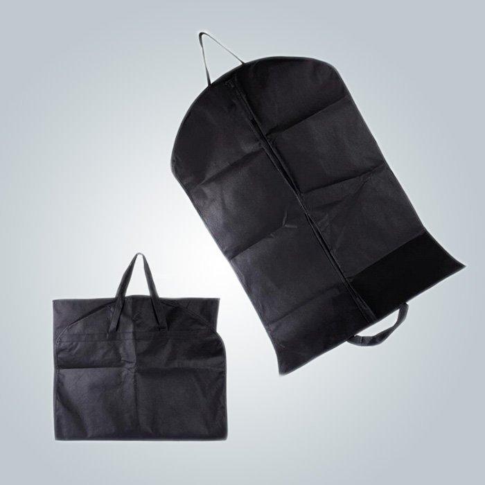 Promocionales personalizados bolsa de ropa para ventas por mayor, bolso no tejido cubierta