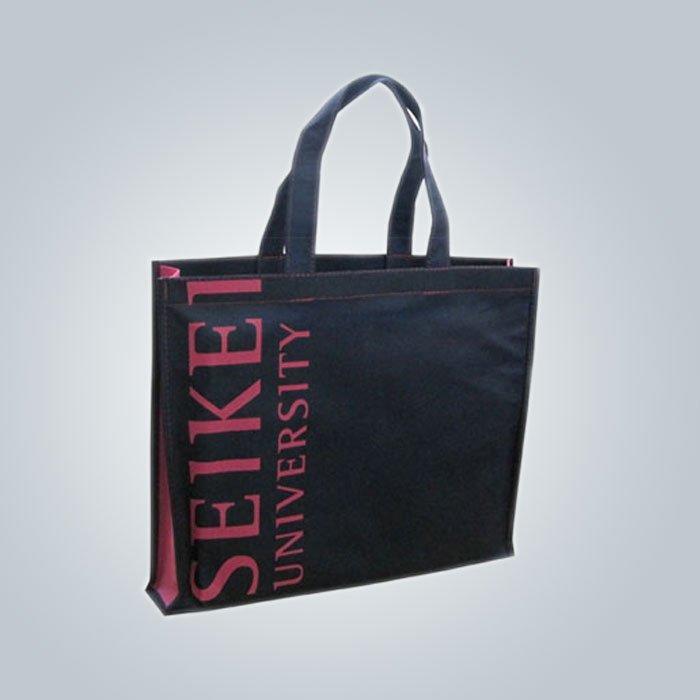 Bunte Stiel PP Non Woven Taschen für Supermarkt / Tuch Store