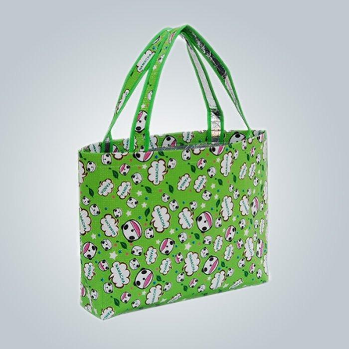 रंगीन मुद्रण गैर बुना शॉपिंग बैग, गैर बुना Polypropylene बैग