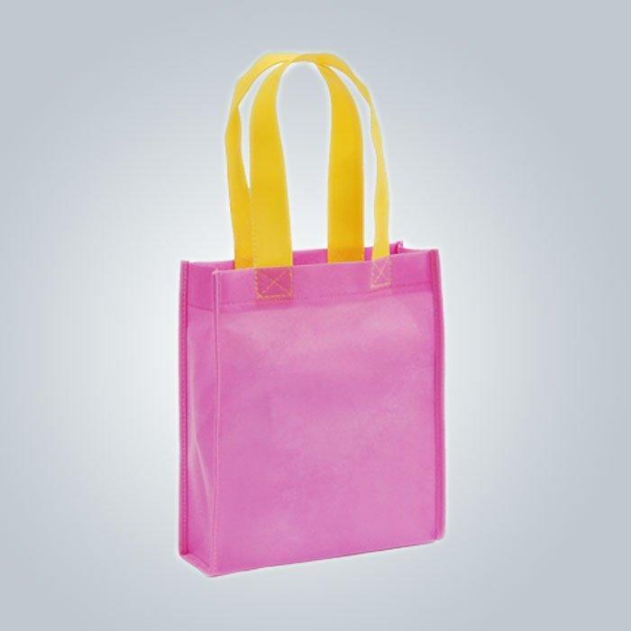 PP 超音波をリサイクル 不織布バッグ縫いジュエリー アジア市場に輸出