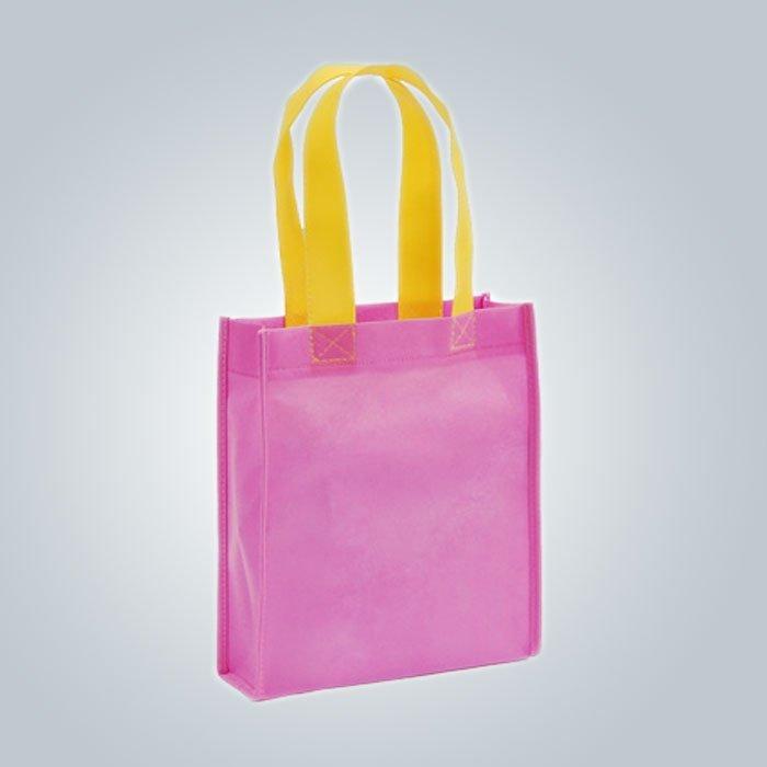 PP Woven Taschen Recycling Ultraschall genäht Schmuck in Asien Markt exportiert