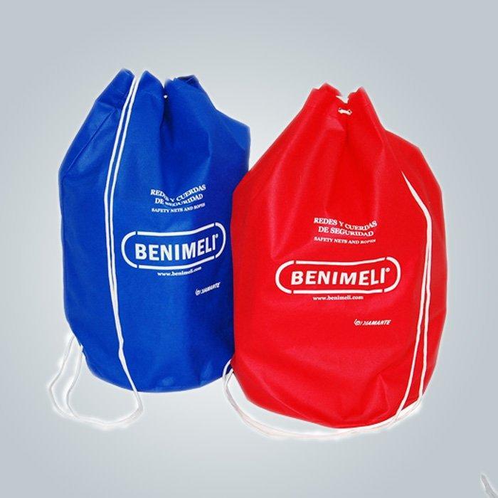 OEM 赤 100% ポリプロピレン不織布バッグはヨーロッパ市場に輸出 OEM