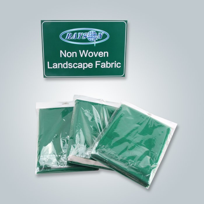 लैंडस्केप खरपतवार नियंत्रण biodegradable पीपी spunbond गैर बुना कपड़ा