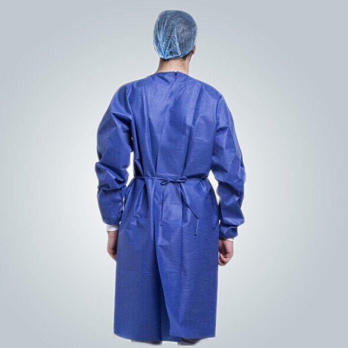 Eco amistoso azul PP Spunbond no tejido para máscara médica o vestido quirúrgico