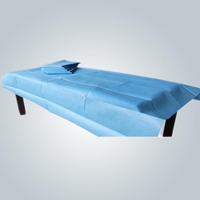 Ospedale letto medico foglio Spunbond PP Non tessuto medico per cassa del cuscino