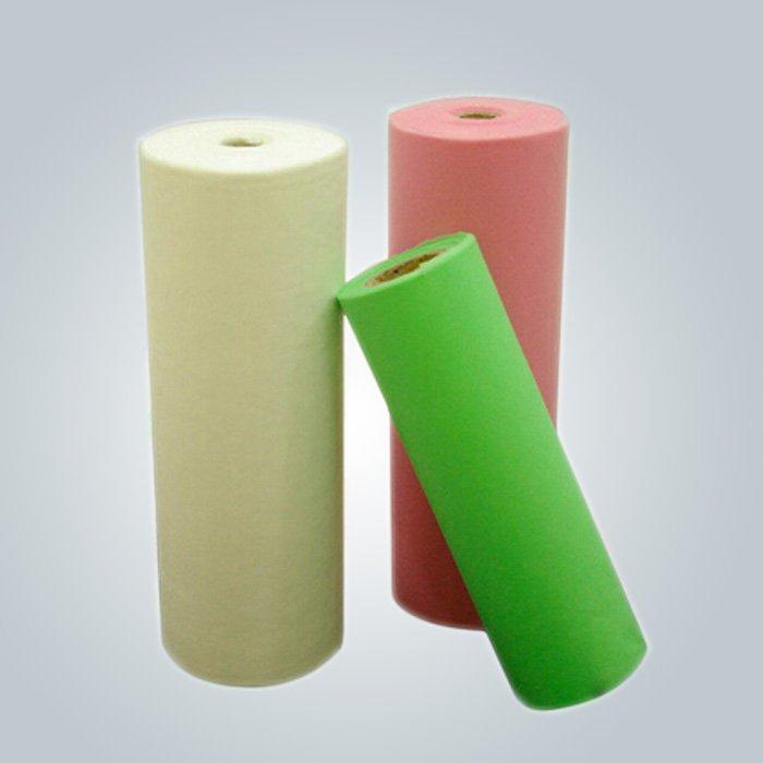 Hydrophobe Polypropylen Vlies medizinisches Einwegmaterial recyclebar und hydrophile