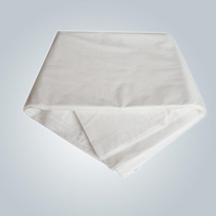 Germproof गैर बुना चिकित्सा कपड़ा, डिस्पोजेबल बिस्तर शीट रोल 10-150gsm
