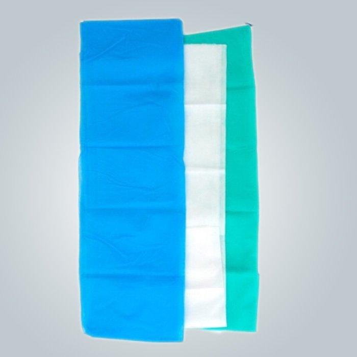 OEKOTEX certificado Raw Material desechables no tejidos para sábanas / máscara