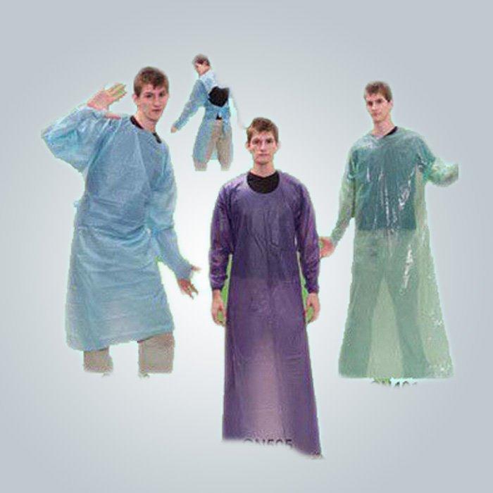 Hight force 100 % polypropylène Non tissé des draps de lit à la chemise d'hôpital Patinet