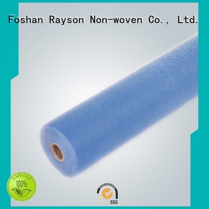 Wholesale gown non woven factory environmental rayson nonwoven,ruixin,enviro Brand