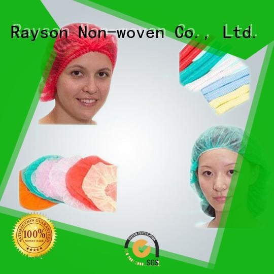 White Color SS Medical Non Woven for Disposable Bouffant Cap Good Strength