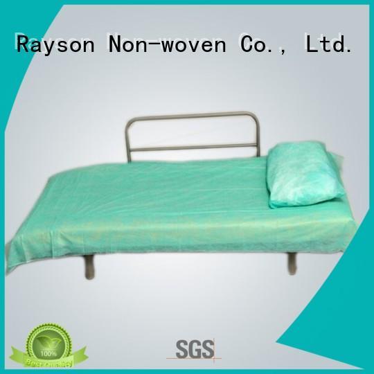 rayson nonwoven,ruixin,enviro Brand duvet coat size plastic non woven fabric wholesale