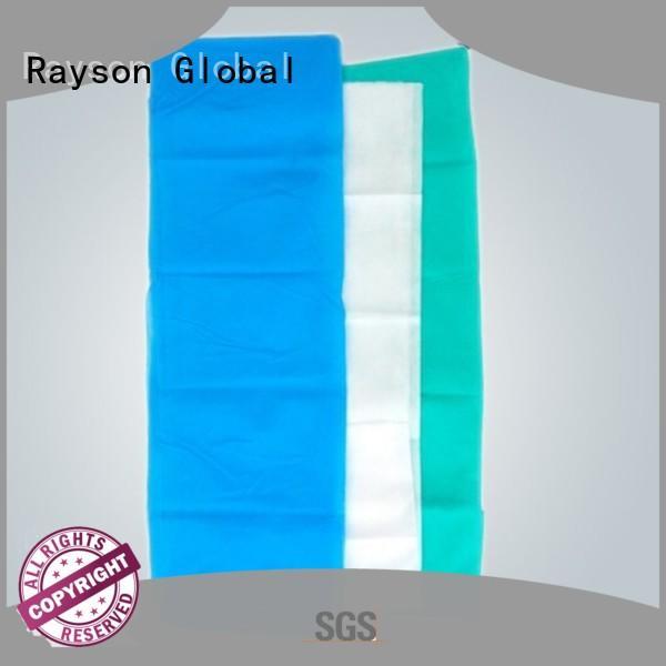 rayson nonwoven,ruixin,enviro Brand colors coat custom non woven factory