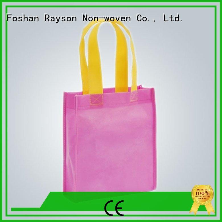 Bolsas tejidas de polipropileno reciclan joyas cosidas por ultrasonido exportadas al mercado asiático