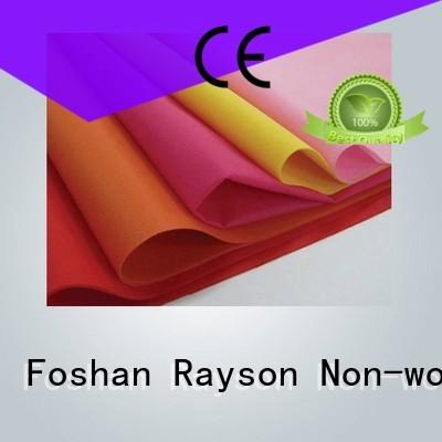polypropylènepp non tissé fournisseurs marché pour l'emballage non-tissé de rayson, ruixin, enviro