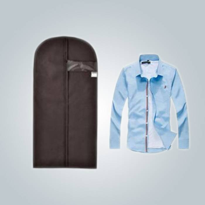 Foldable PVC Window Garment Bag Suit Cover For Mev 's T - Shirt
