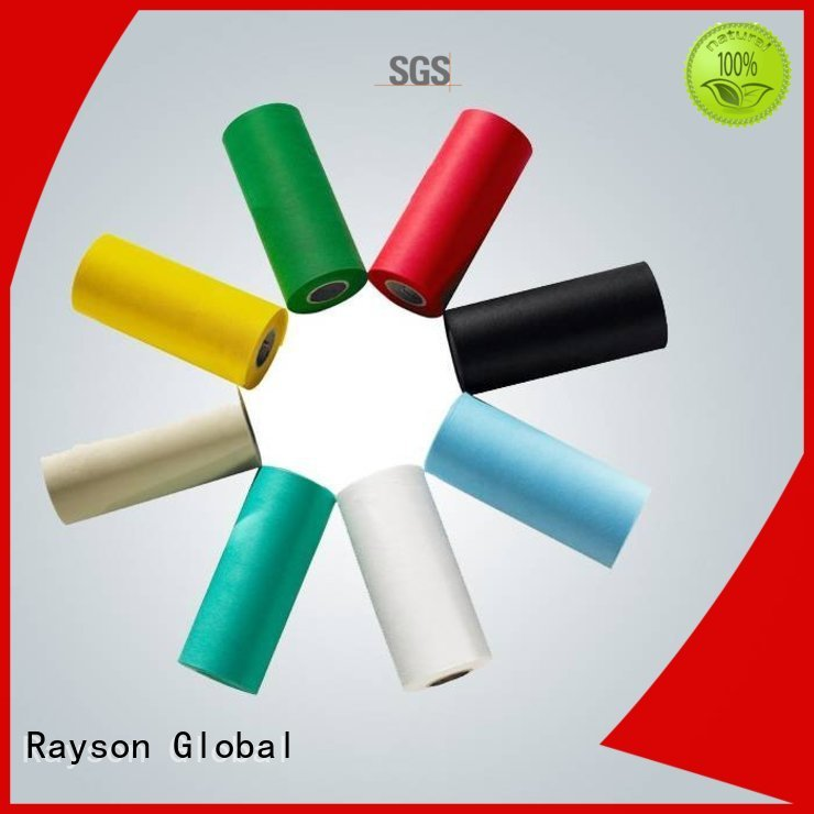waterproof bottom red rayson nonwoven,ruixin,enviro Brand non woven weed control fabric supplier