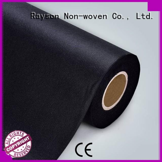 rayson nonwoven,ruixin,enviro Brand weight agriculture non woven weed control fabric manufacture