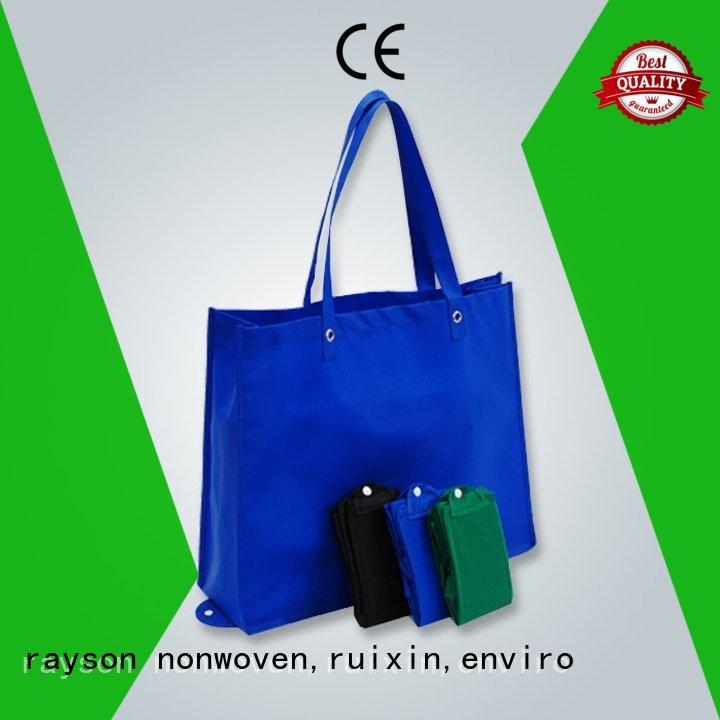 Rayson vlies, ruixin, enviro recycling non woven einkaufstasche tnt für reißverschluss