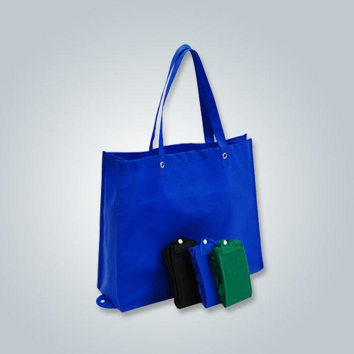 Folding non woven bag is made by  pp nonwoven fabirc