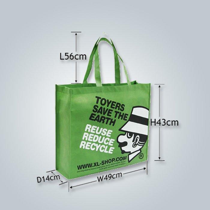 disegno stringa borse in tessuto non tessuto, non tessuto shopping bag, sacchetto non tessuto