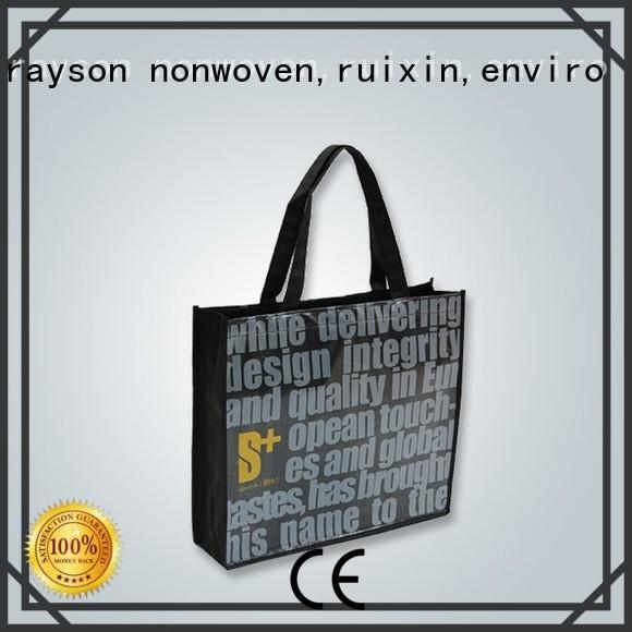 Rayson 부직포, ruixin, 환경 환경 비 짠 제조 공장 가격 스파